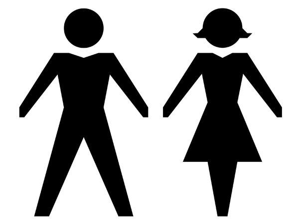 Silhouette Stick Figure
