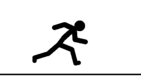 480x270 Shining Ideas Running Stick Figure Gif Clip Art Animation Vector