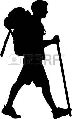 273x450 Hiking Clipart Stick Figure
