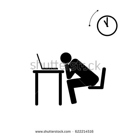 450x470 Tired Clipart Stick Figure Many Interesting Cliparts