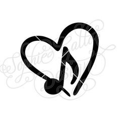 236x236 Music Note Monogram Svg Dxf Png Digital Download File Silhouette