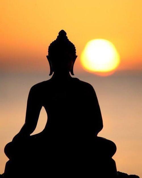 500x625 Sunset, Sunrise Zen Attitude Sunset, Buddha