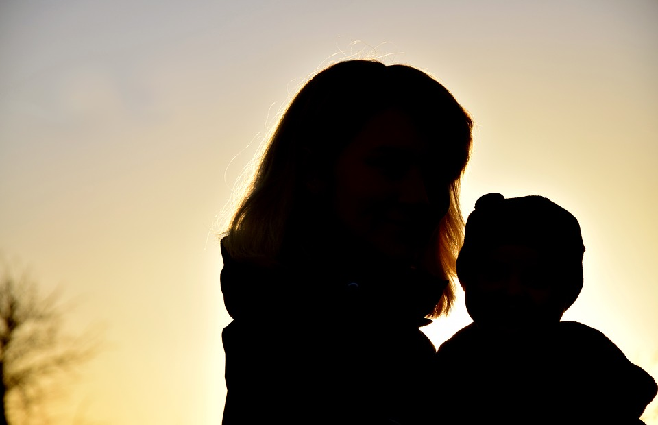 960x620 Free Photo Child Family Woman Sunset Silhouette