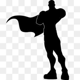 260x260 Superman Silhouette Superhero Angular