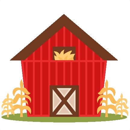 432x432 Farm Barn Svg Scrapbook Cut File Cute Clipart Files For Silhouette
