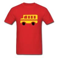190x190 Yellow School Bus Silhouette By Azza1070 Spreadshirt