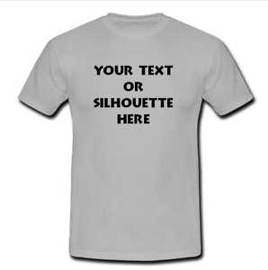 298x300 Custom Personalized T Shirt Your Text Or Silhouette Printed Tee