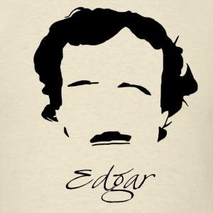 300x300 Edgar Allan Poe Silhouette Amp Hirsute T Shirt Mephobia Designs