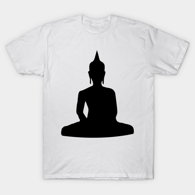 630x630 Limited Edition. Exclusive Sitting Buddha Silhouette