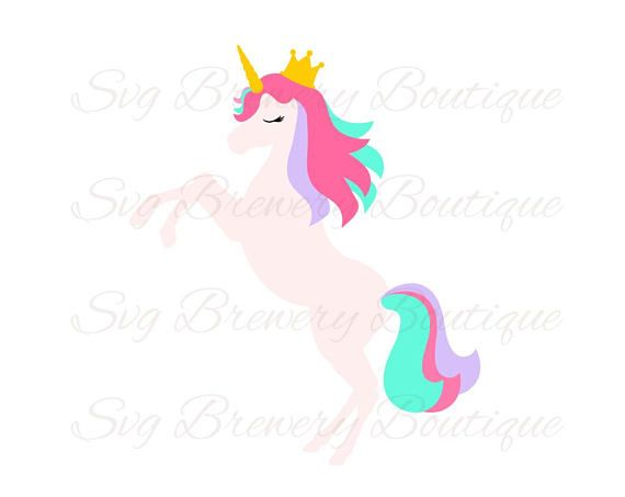 570x453 Unicorn, Crown, Lashes, Horn, Svg (Layered), Png, Dxf, Cricut