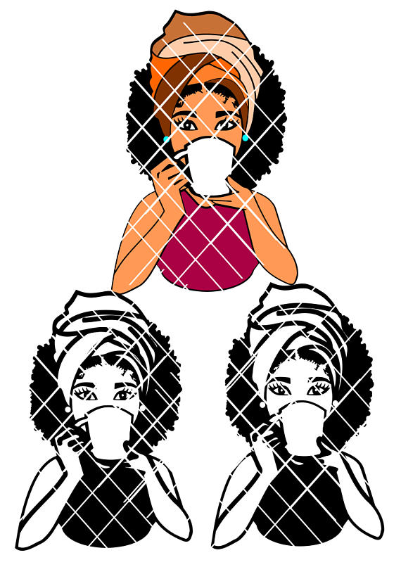 570x806 Woman Drinking With Mug Svg,afro Puff Svg,headwrap Svg,sistah Svg