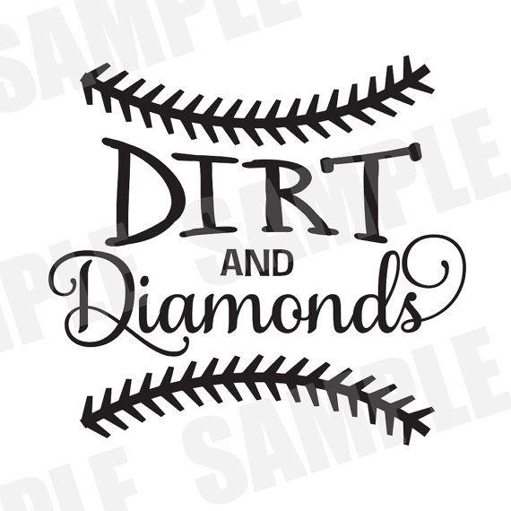 570x570 Svg Commercialpersonal Use Baseball Softball Dirt And Diamonds