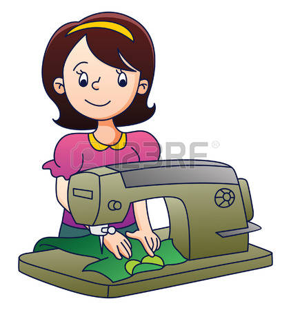 422x450 Sewing Machine Clipart Tailor Many Interesting Cliparts