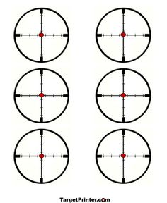 image about Turkey Shoot Targets Printable referred to as Silhouette Focus Printable at  No cost for