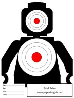 photograph about Printable Archery Targets called Silhouette Aim Printable at  No cost for