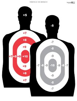 251x330 Hostage Silhouette Gun Range Shooting Target