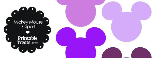 610x229 Mickey Mouse Head Silhouette Also Mickey Mouse Template Free 32