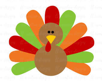 340x270 Turkey Svg Etsy