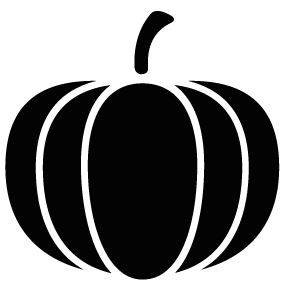 283x283 Pumpkin Vegetable Silhouette Silhouette Of Pumpkin Vegetable