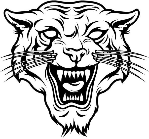 Silhouette Tiger