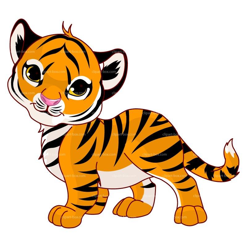 800x800 Tiger Silhouette Clipart