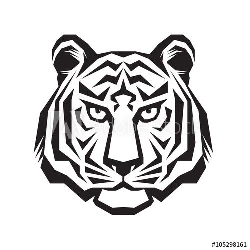 500x500 Tiger Head