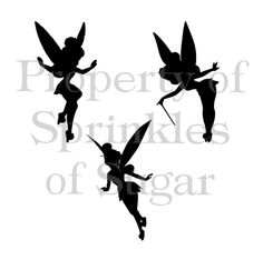 Silhouette Tinkerbell