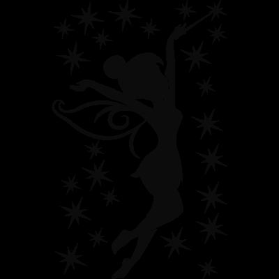 400x400 Pics For Gt Tinkerbell Silhouette Tattoo Marathon Tatts
