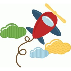 300x300 Toy Airplane Silhouette Design, Silhouettes And Toy