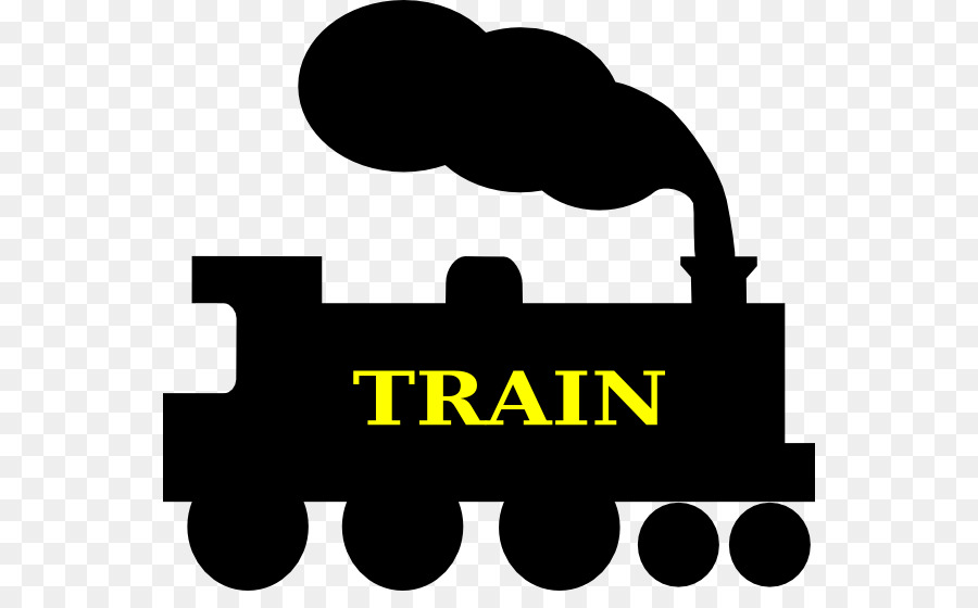 900x560 Train Silhouette Steam Locomotive Track Clip Art