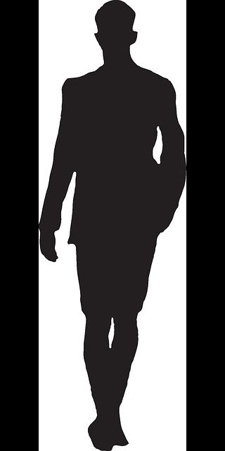 320x640 Man, Silhouette, Going, Walking, Traveling, Travel