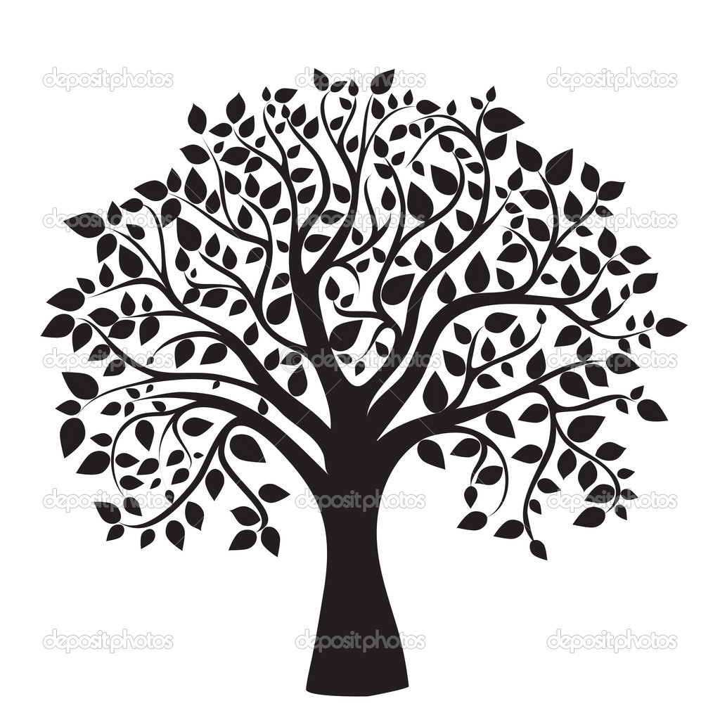 Silhouette Tree Art At Getdrawings Com Free For Personal Use
