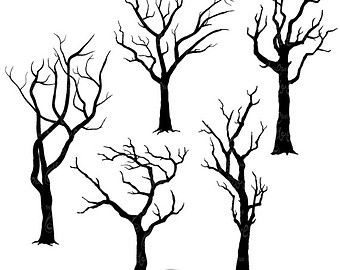 340x270 Branch Silhouettes Clipartbranch Silhouettes Clip Art Pack,tree