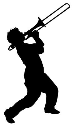 Silhouette Trumpet Player