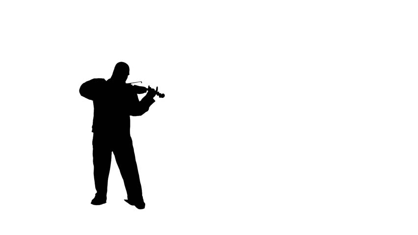 852x480 Three Silhouettes Swinging Out As They Play Trumpet In A Studio