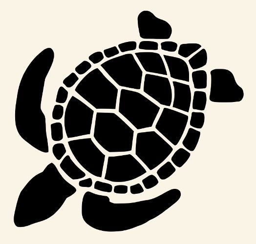 Silhouette Turtles