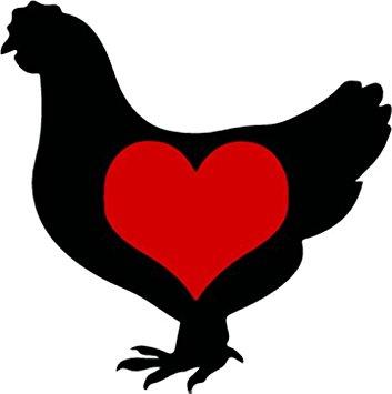 353x355 Chicken Decal