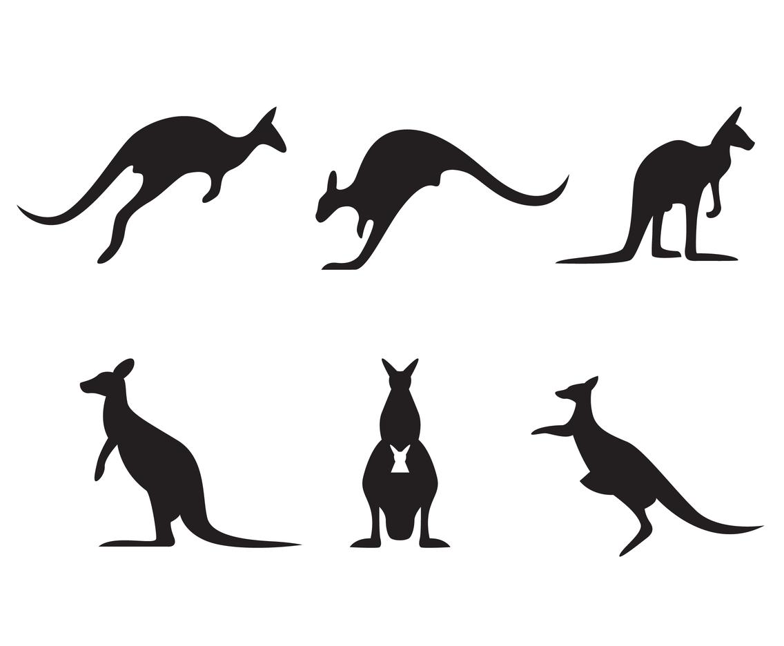 1136x936 Kangaroo Silhouette Vector Vector Art Amp Graphics