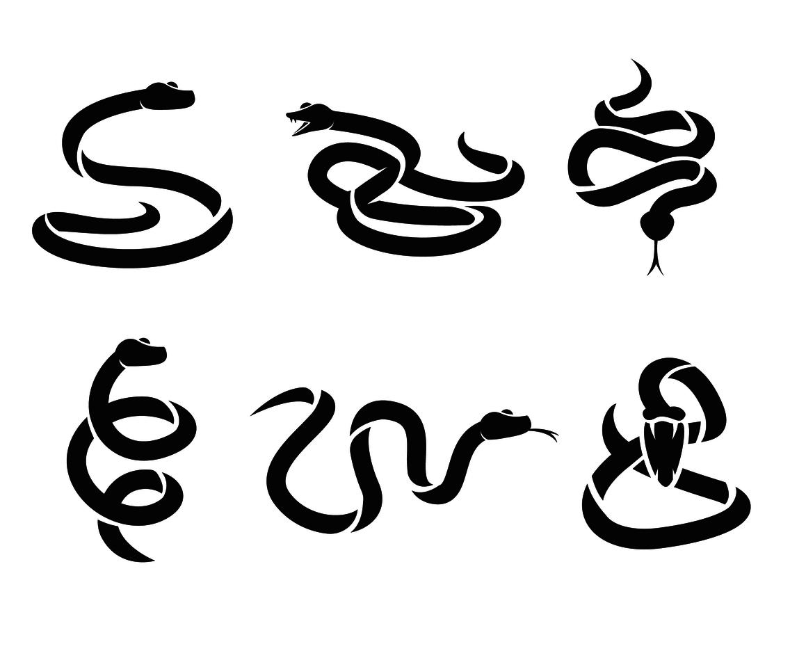 1136x936 Black Serpent Silhouette Vector Vector Art Amp Graphics