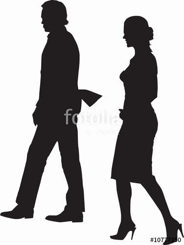 376x500 Silhouette Vector Luxury Walking Couple Silhouette Vector Fichier