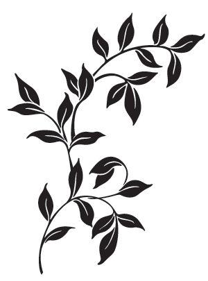 300x405 Silhouette Stencil Designs Custom Patterns And Stencils