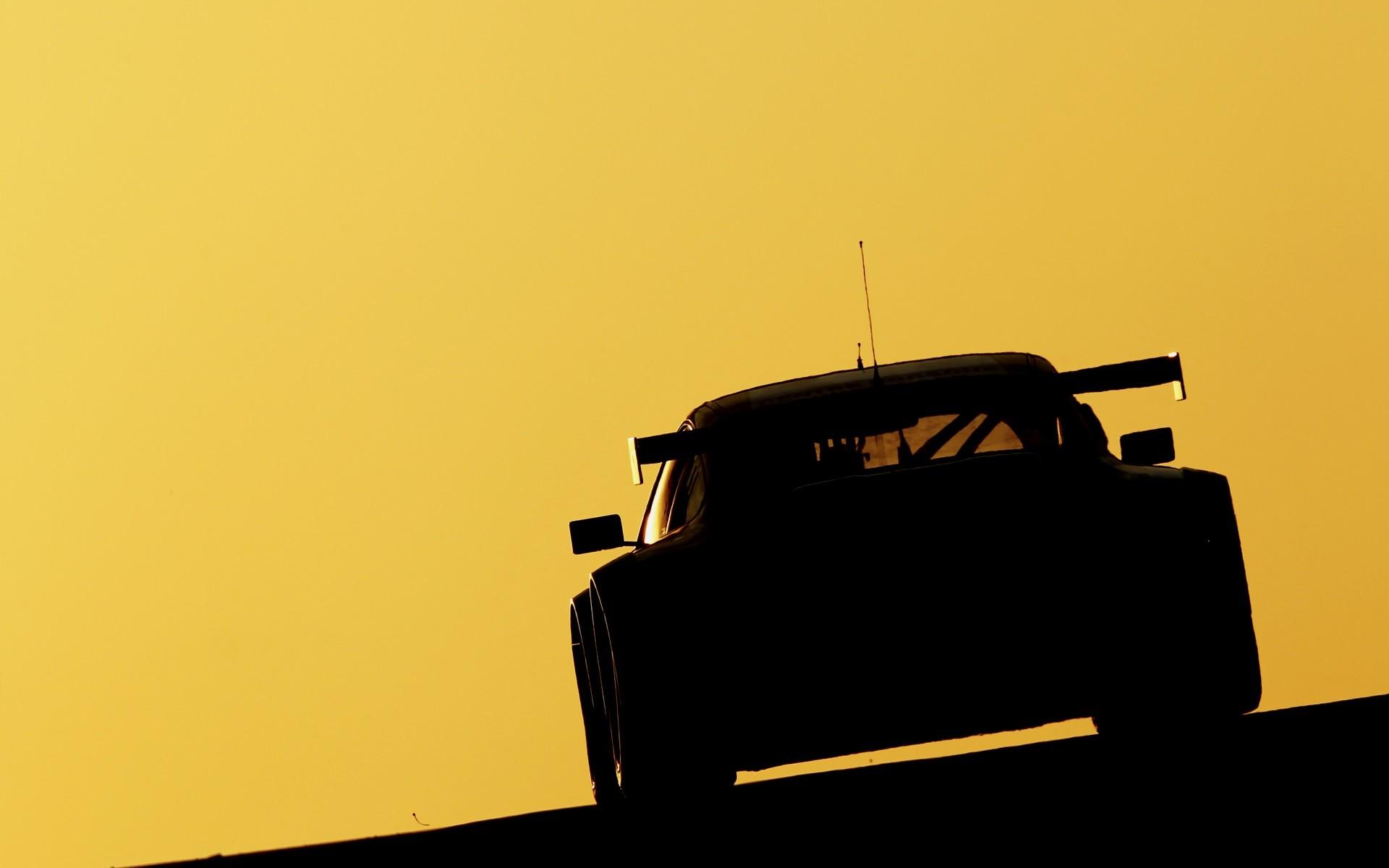 1920x1200 Porsche Racing Race Cars Track Silhouette Supercars Free Desktop