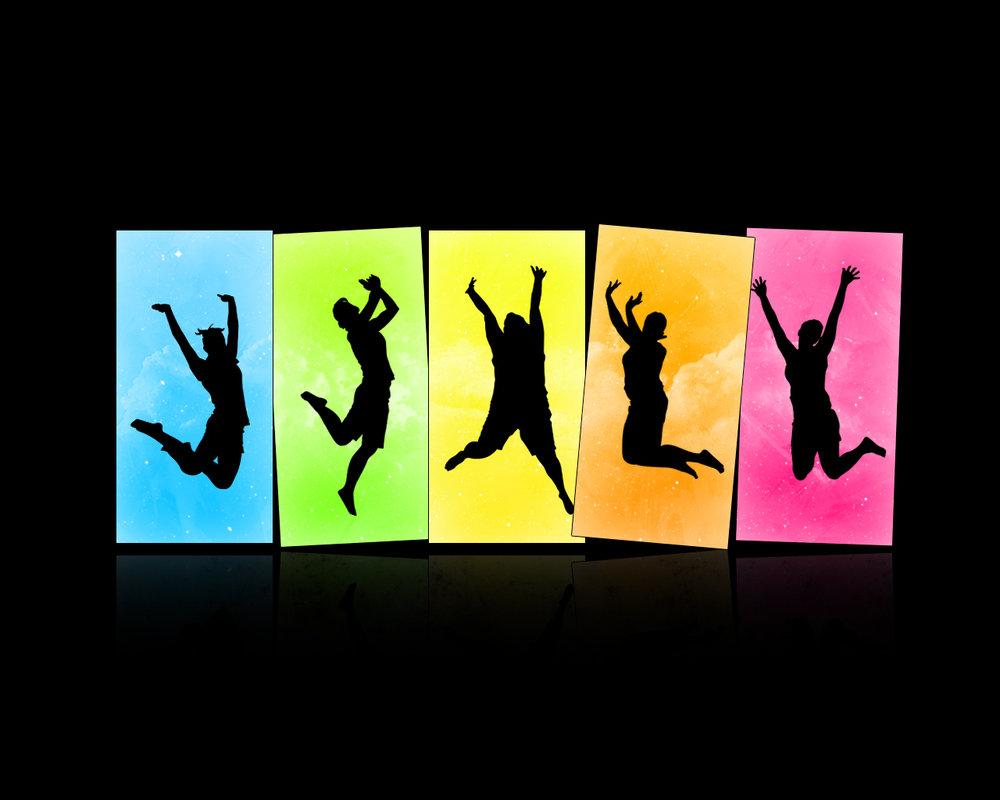 1000x800 Colourful Jump. By Physicalmagic