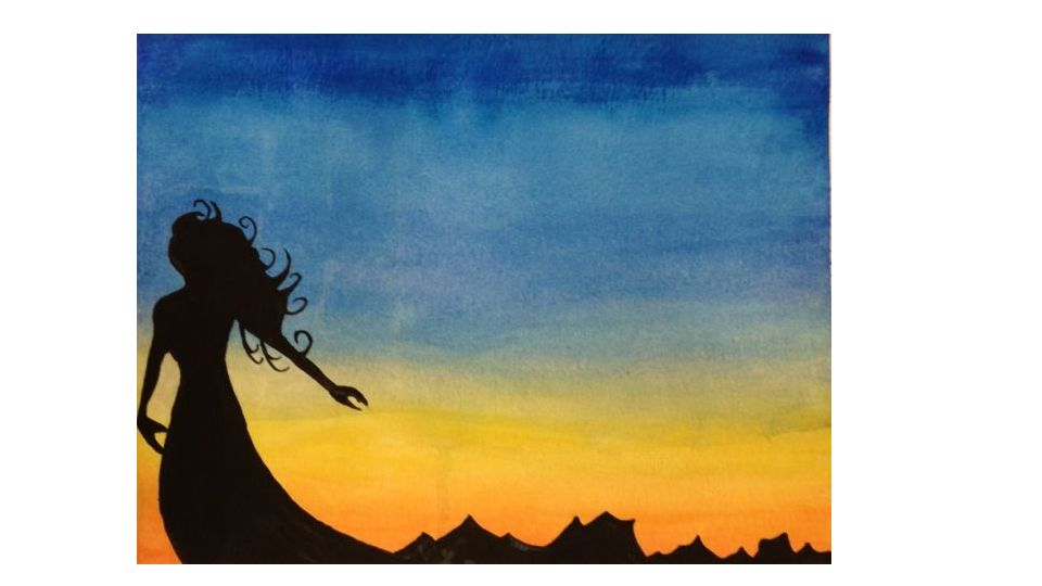 960x540 Watercolor Day 3. Bellwork 1. What Is A Silhouette 2. What Are