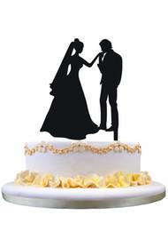 190x260 Discount Wedding Topper Silhouette 2018 Wedding Topper