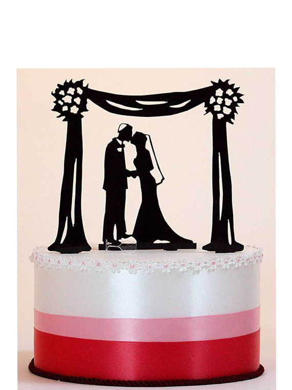 570x760 82 Best Custom Cake Topper Silhouettes Images