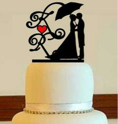 236x247 Wedding Cake Topper Silhouette Bride And Groom With Just Married