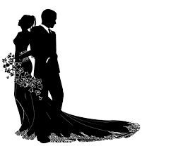 Silhouette Wedding Invitation