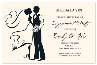 414x278 Silhouette Couple Dancing Invitations Myexpression, 17578