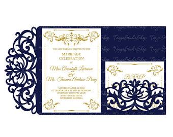340x270 Wedding Invitation Etsy